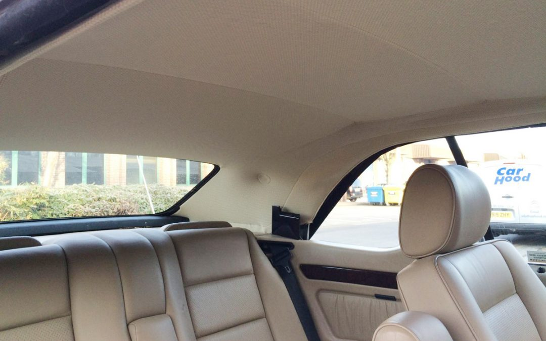 Classic Mercedes E-Class Hood Replacement