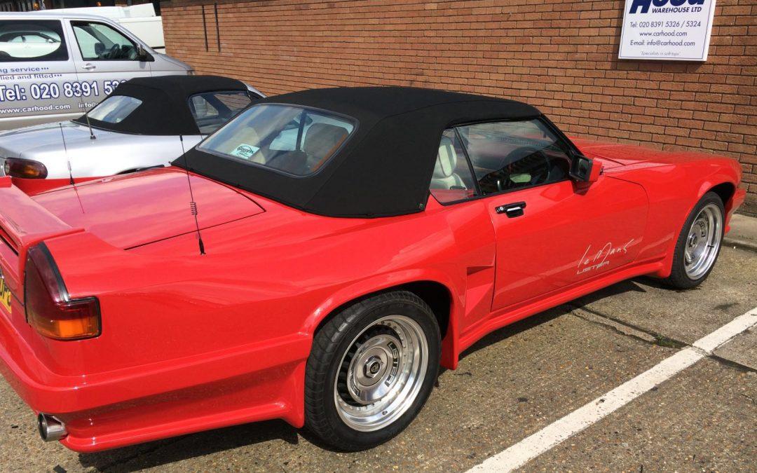 Car Hood gets its hand on a rare Jaguar Lister!